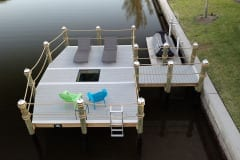 Simple Dock with Seating and Viewing Area