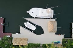 Dock and Boat Lift in Cape Coral