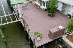 Dock and Lift with Space for Gatherings