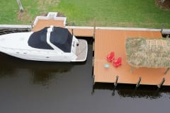 Dock and Tiki Hut in Southwest Florida