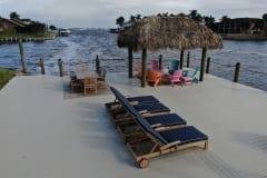 Dock and Tiki Hut