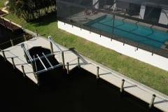 Dock, Walkway, and Boat Lift