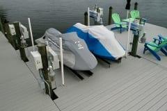 Dock and Jet Ski Lift in Southwest Florida