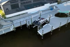 Dock with Boat Lift