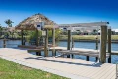 New Dock and Tiki