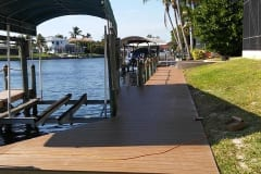 New Dock with Canopy and Lift