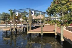New Construction Dock with Lift